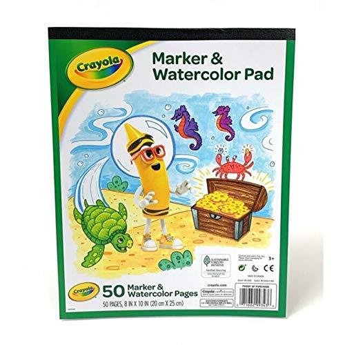 Crayola Marker and Watercolor