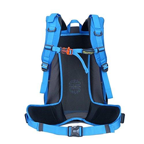 LIGHTING borsa a tracolla alpinismo / zaino impermeabile / esterno borsa da viaggio corsa / sport bag-blu 40L