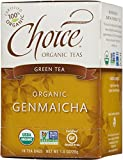 Choice Organic Genmaicha Green Tea, 16 Count Box