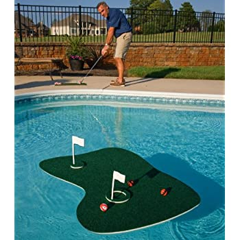 Amazon.com: The Ultimate Pool & Backyard Juego de golf: Toys ...