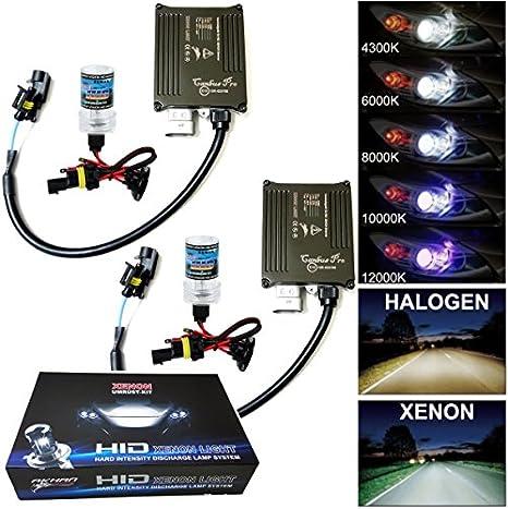 Can-Bus Materiale per Il Montaggio Senza errori e intermittenze Ballast HID Incluso 9-32 V Kit di lampade allo Xeno akhan-tuning Digital Attacco H1 10000 Kelvin 35 W