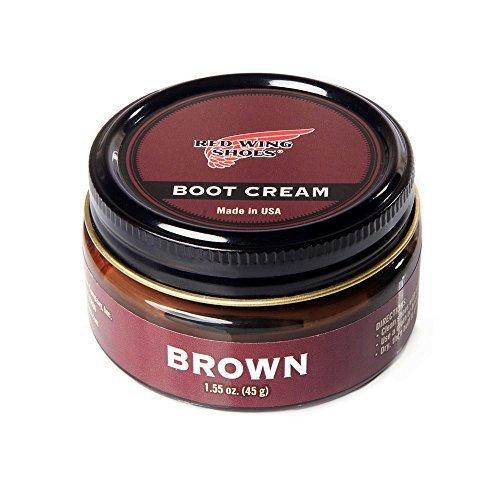 45g Cream - Red Wing Men's Shoe Cream 45 g Brown
