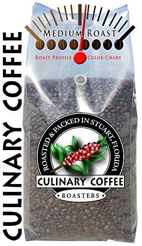 Fancy Blend 5 Lb Bag - Culinary Coffee Roasters- Kona Fancy Blend, Medium Roasted Whole Bean Coffee, 5-pound Bag Amazon Special 100% Satisfaction Guaranteed!