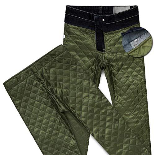 Uomo Denim Base Battercake Di Comodo Con Pantaloni Spessi Dritti E Invernali Blau Regolari Lunghi Da Elasticizzati Design Caldi 7I7p5q