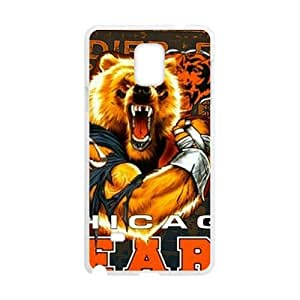 SANYISAN Chicago Bears Fahionable And Popular High Quality Back Case Cover For Samsung Galaxy Note4