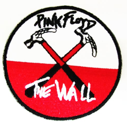 Pink Floyd Wall Hammers Cloth Patch (Ro Card Pack) Iron on Sew Applique Embroidered - Products Floyd