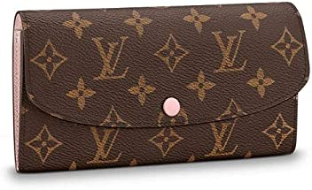 abb027cff Louis Vuitton Monogram Canvas Monogram Canvas Emilie Wallet Article: M61289  Rose