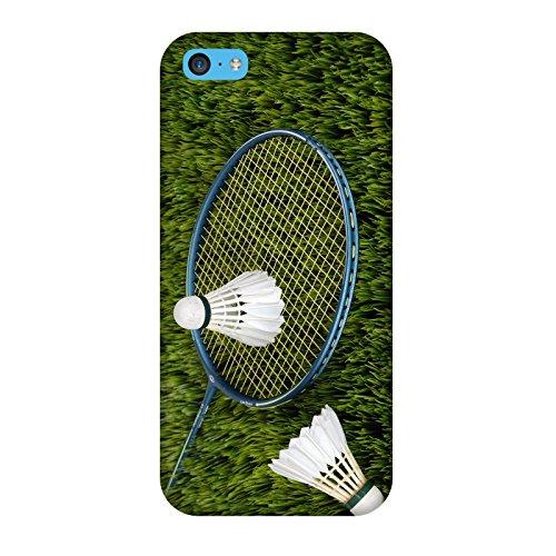 Coque Iphone 5c - Badminton Racquette Volant