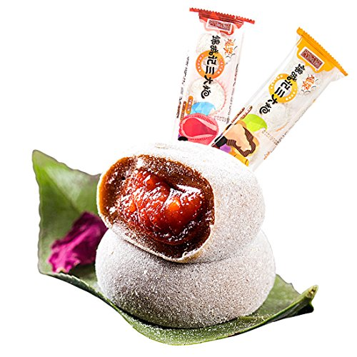 Sichuan Specialty: San Da Pao Mochi with Full Filling 408g/14.4oz/0.9lb (Rose Brown Sugar Flavor)