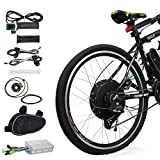 "Best Electric Bicycle Conversion Kits - Voilamart 26"" Rear Wheel 48V 1000W Electric Bicycle Review"