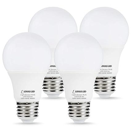 lohas sensor light dusk till dawn led bulb light sensor porch light