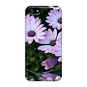 New Flowers High Resolution Tpu Case Cover, Anti-scratch Trolford Phone Case For Iphone 5/5s