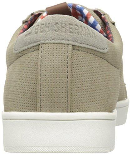Ben Sherman Menns Ashton Mote Sneaker Taupe