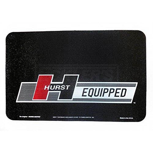 Eckler's Premier Quality Products 61-342454 Fender Cover Gripper, Black With Hurst Logo