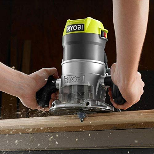 Ryobi 8.5 Amp 1-1 2 HP Fixed Base Router Green Renewed