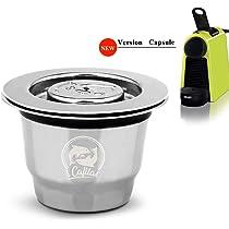 Amazon.com : Steel Nespresso Capsules Reusable Nespresso ...