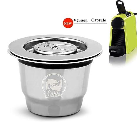 Amazon.com: i Cafilas Cápsulas de café reutilizables de ...