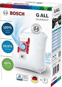 Amazon.com: Bosch – Bolsas para aspirador tipo G 4 en pack ...