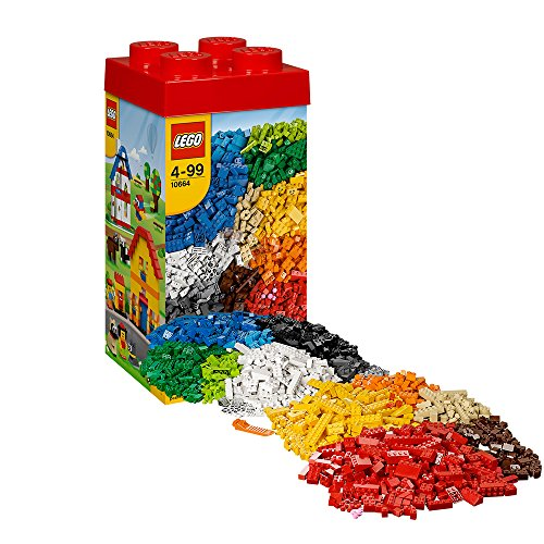 (LEGO Creative Tower Building Kit XXL 1600 Pieces 10664)