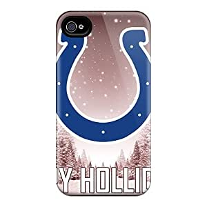Shockproof Hard Cell-phone Case For Iphone 6 With Allow Personal Design Realistic Indianapolis Colts Pattern CharlesPoirier