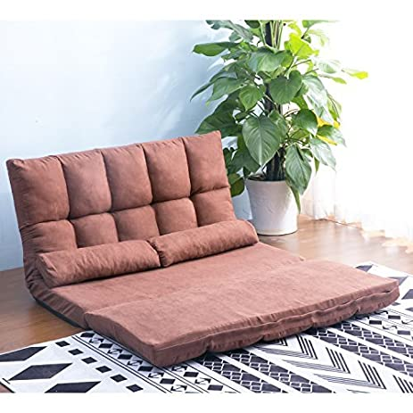 Amazon.com: Harper&Bright Designs Double Chaise Lounge Sofa Chair ...