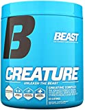 Beast Sports Creature Creatine Complex- 5 High Quality Forms of Creatine including Creatine Monohydrate. Build Muscle Fast. 2 Time Creatine Supplement of the Year. 300 Gms 60 Servings, Unflavored