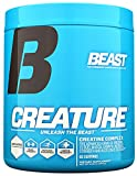 Beast Sports Nutrition – Creature Creatine Complex – Fuel Muscle Growth – Optimize Muscle Strength – Enhance Endurance – Increase Recovery Time – Five Forms of Creatine – Unflavored 60 Servings