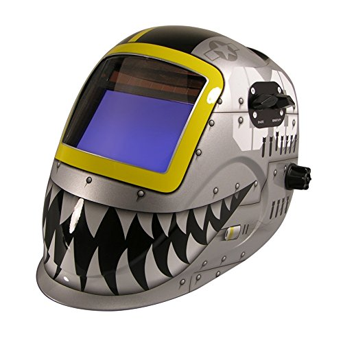 ArcOne 7000VX-1171 Python Welding Helmet with 7000VX Shade Master Filter, Fighting - Helmet Welding Python