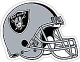 NFL Oakland Raiders Vinyl Magnet, Team Color