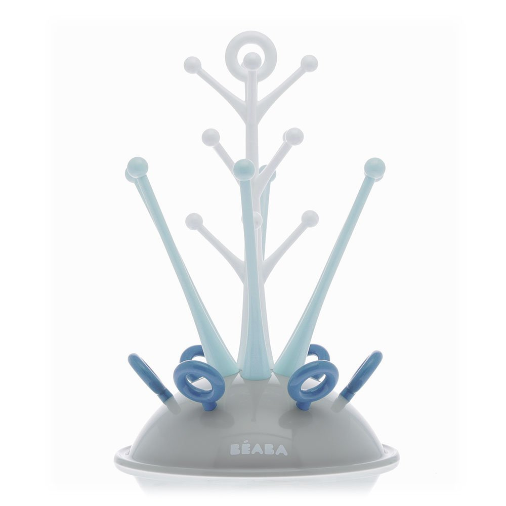 Beaba Bottle Tree Draining Rack Blue 911614