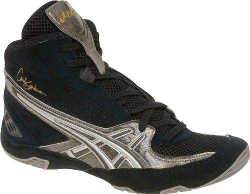 Asics Cael v3.0 Wrestling Shoes Black/Serpent/Gold size 10