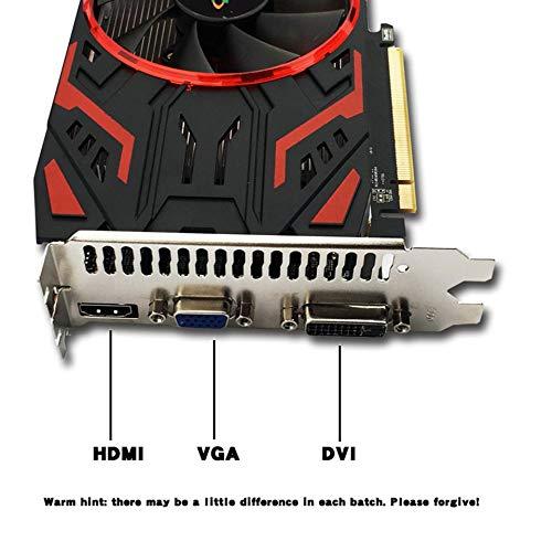 GTX650Ti 2GB DDR5 128Bit 128Bit 128Bit Graphics Card PCI-E Video Card for PC Gaming Video Card(schwarz) B07P6QW69J | Förderung  639054