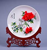 Product review for Hand kneading Chinese characteristics Handmade porcelain rose hanging disc Free customization