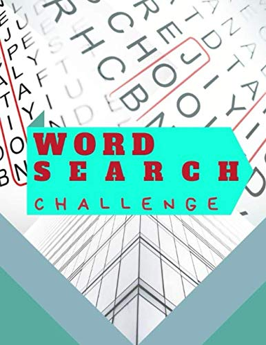 Word Search Challenge: Make your own word search inspirational word search fun word search puzzles with fascinating themes. (Make Your Own Word Search For Kids)