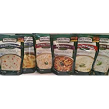 Bear Creek Soup Mixes Variety Bundle: Creamy Chicken, Creamy Wild Rice, Minestrone, White Cheddar, Creamy Potato, and Chicken Noodle (6 Pack) 1 of Each Flavor