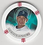 2014 Topps Poker Chipz Felix Hernandez Seattle Mariners