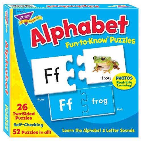 Fun-to-Know® Puzzles: Alphabet ()