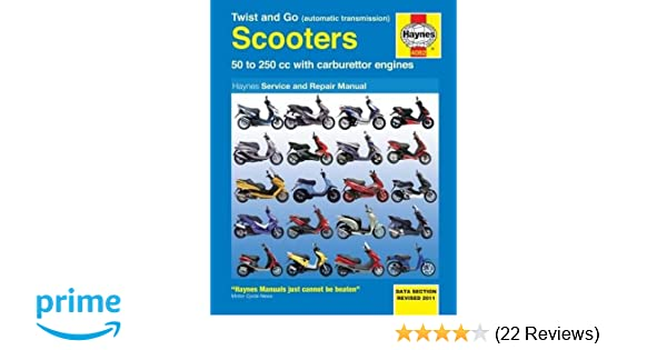 Twist and go scooters 50 to 250 cc with carburetor engines haynes twist and go scooters 50 to 250 cc with carburetor engines haynes manuals bob henderson 0884774114046 amazon books fandeluxe Images