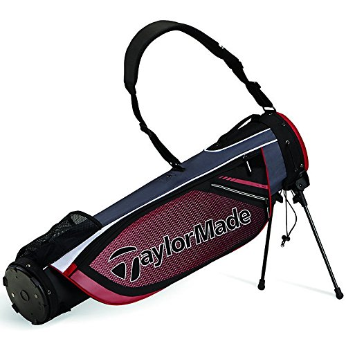 TaylorMade Quiver Stand Bag, Black/Red