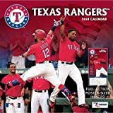 Texas Rangers 2018 Calendar: Full-Action Poster-Sized Images!