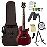 Paul Reed Smith Guitars 245STVC-Kit01 PRS SE 245 Standard Vintage Cherry Electric Guitar with Gig Bag & ChromaCast Accessories