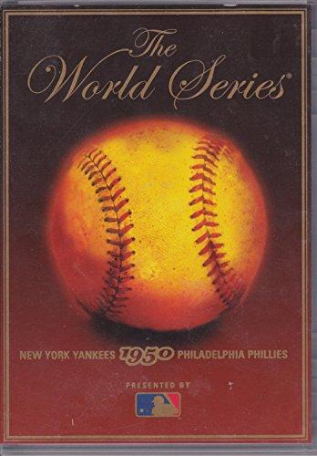The World Series 1950 (New York Yankees vs. Philadelphia Phillies) Major League Baseball (MLB) DVD