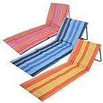 Folding Sun Lounger Beach Mat