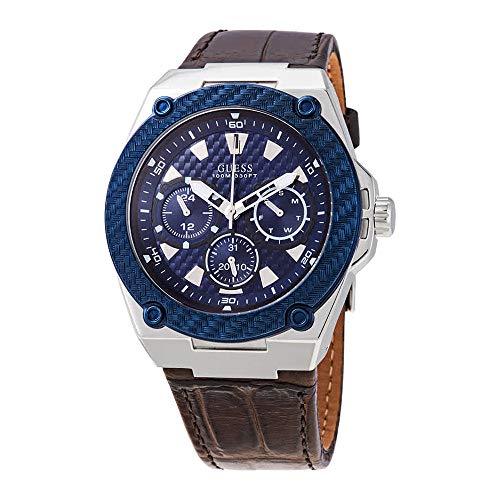 Guess Legacy Quartz Blue Dial Men's Watch W1058G4