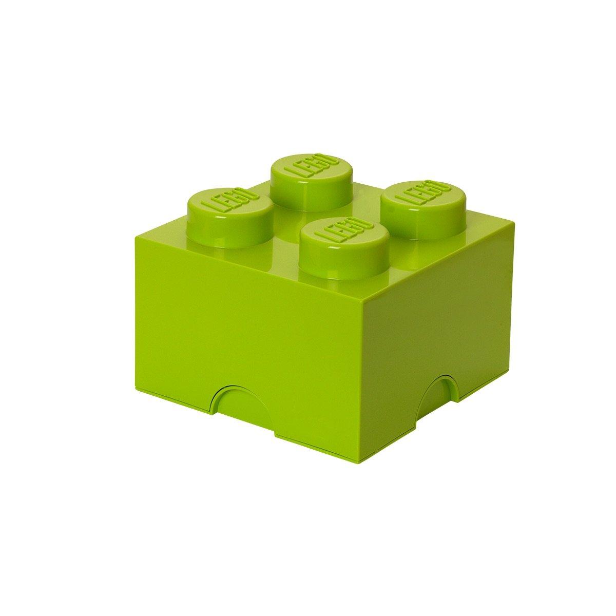 Lego Boîte de rangement en forme de brique Lego Vert anis Taille M ROOM COPENHAGEN 40030620