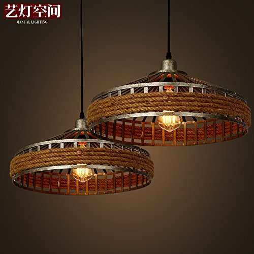 Quietness american village chandelier lamps retro creative idyllic quietness american village chandelier lamps retro creative idyllic sisal industrial 380mm200mm chandelier lamp shades pendant aloadofball Choice Image