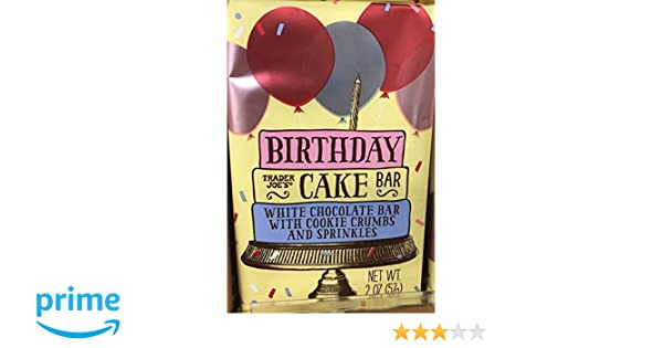 Amazon Trader Joes Birthday Cake Bar Grocery Gourmet Food