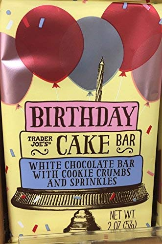 Image Unavailable Not Available For Color Trader Joes Birthday Cake Bar