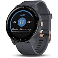 $169 » Garmin Vivoactive 3 Music, Multisport GPS Watch with Music Storage, Built-in Sports Apps, Automatic Sync and Supports Spotify, Granite Blue with…