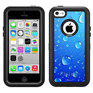 Otterbox Apple iPhone 5 5s Defender Case Blue Water Drops